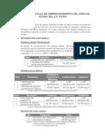MC Dimensionamiento Área Acopio Del E.P.piurA