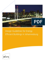 City of Joburg - Design Guidelines for Energy Efficient Buildings in Johannesburg