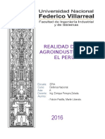 Agroindustria en El PERU