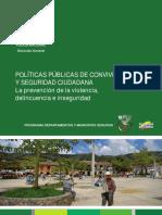 Cartilla 3 Politicas Publicas de Seguridad Ciudadana