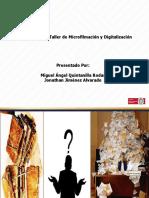 Taller Microfilmación y Digitalización - Miguel (1)