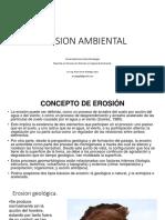 3.- Erosion Ambiental