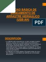 Unidad Básica de Saneamiento de Arrastre Hidráulico