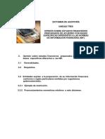 Opinión Sobre Estados Financieros Preparados de Acuerdo Con Bases Específicas Diferentes a Las Normas de Información Financiera (Nif).