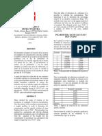 Refractometria en Bebida Aoholica Polarimetria en Azucar