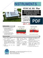 Syscal r1 Plus