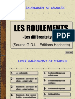 Roulements Differents Types