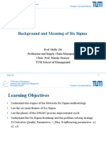 TUMx Background and Meaning of Six Sigma - Part 1