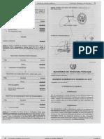Acuerdo Gubernativo Numero 82-2017 (Exoneracion) SAT