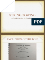 String Bowing