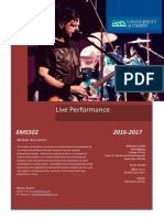 6MS502 - LP Live Performance(1)