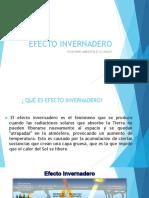 Efecto Invernadero- Quimica Ambiental II