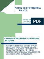 Intervencion de Enfermeria en Hta