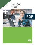 Manual de HP Deskjet 460 Portatil Español SCJM