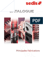 Sedis Catalogue Principales Fabrications