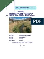 Estudio Hidrologico Unheval Cayhuayna Para Informe