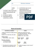 Estudio Inductivo-términos