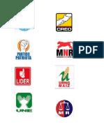 16 Logos Partidos Politicos