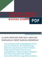 Nilai Pancasila Sebagai Pandangan Hidup Bangsa Indonesia