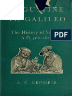 Crombie, A.C.-augustine to Galileo. the History of Science a.D. 400-1650-Harvard University Press (1953)