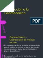 Introducción GEOMECANICA