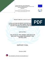 Activité C - Rapport Final Consolidé
