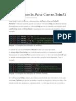 Diferença Entre Int.parse-Convert.toint32