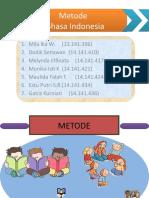Metode Bahasa