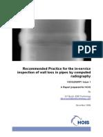 Wall Loss Measurement - Computed-Radiography