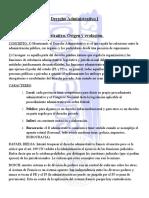 Resumen Derecho Administrativo I. Generación UNS 2015.- M.
