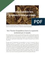 Estudios de Geopolítica Mundial