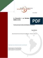 LA EVALUACIÓN Y LAS REFORMAS EDUCATIVAS EN AMÉRICA LATINA
