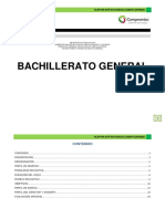 Plan de Estudios del Bachillerato General (Versión 2012)