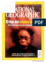 Nat Geo Noviembre 2016 Eslabón Perdido Evolución Laredo