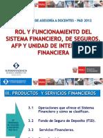 3 Productos y Servicios Finacieros