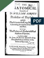 William Harvey, De Motu Cordis eng. trans. 1653