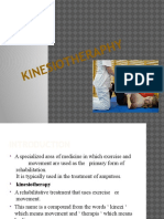 KINESIOTHERAPHY PPT