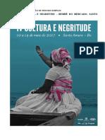 Edital de Submissão -V Cultura e Negritude