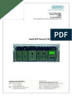 Sertel T GPS 300 NTPS Manual