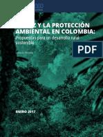 Informe Paz y Medio Ambiente en Colombia