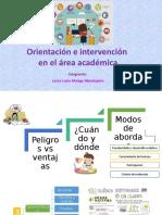Orientación e Intervención en El Área Académica Expo Terminado
