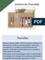 El Conexionismo de Thorndike