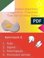 Pengenalan Algoritma ( Algoritma, Flowchart, Tipe