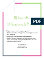 All About Me - 30 Personal Questions Amp Amp Prompts