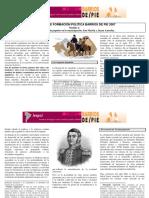 La participación popular en las guerras de la independencia