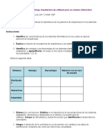 Unidad 3. Evidencia de Aprendizaje. Arquitectura de Software Para Un Sistema Informático