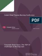 Traumatic Brain Injury TOP 10 Challenges