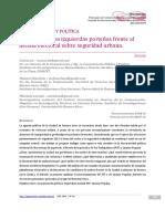 Ciudad Delito Y Politica - El Desafio De Las Izquierdas Porte