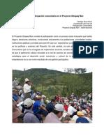 1. RUIZ RUBIO-El Rol de La Participación Comunitaria en El Proyecto QÑ