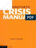 Anaesthetic Crisis